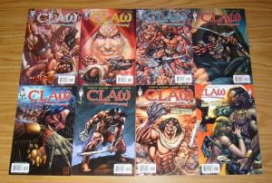 Claw the Unconquered #1-6 VF/NM complete series + (2) variants CHUCK DIXON 3 4 5