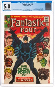 Fantastic Four #46 (Marvel, 1966) CGC Graded 5.0