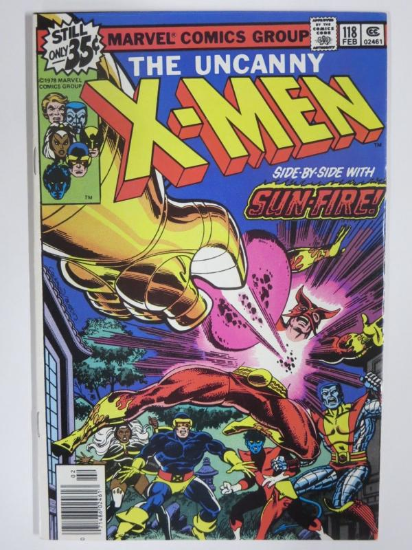 X MEN 118 VG+ Feb. 1979 COMICS BOOK
