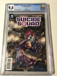 New Suicide Squad 2 Cgc 9.8 Variant