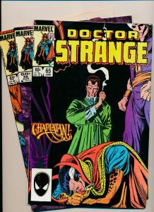 LOT of 3 Comics! Marvel DOCTOR STRANGE #65,66,71  F/VF (PF800)