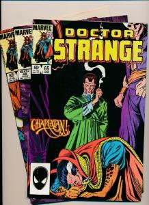 LOT of 3 Comics! Marvel DOCTOR STRANGE #65,66,71  F/VF (PF800)