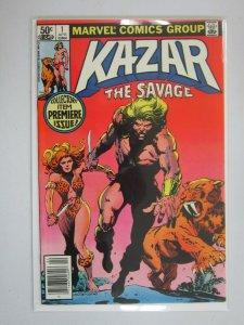 Ka-Zar the Savage #1 Newsstand edition 6.0 FN (1981)