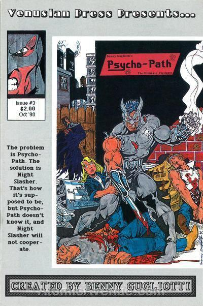 Psycho-Path #3 FN; Venusian | save on shipping - details inside