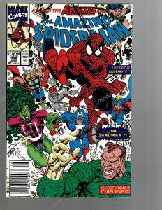 8 Amazing Spider-Man Marvel Comics # 348 349 350 351 352 353 354 355 Venom TJ2
