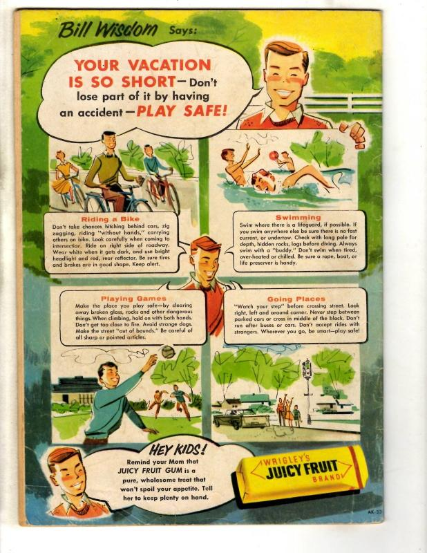 Four Color # 715 Dell Silver Age Comic Book 1956 Sparber Cartoon JL14