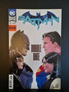 BATMAN #37 VF(DC Comics 2019) BATMAN CATWOMAN SUPERMAN LOIS DOUBLE DATE