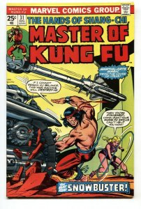 Master of Kung Fu #31 1975 comic book 1st appearance of Pavane