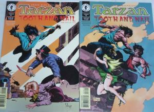 TARZAN (1996 DH) 15-16 Tooth & Nail