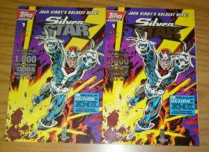 Jack Kirby's Silver Star vol. 2 #1 VF/NM one-shot with foil variant - busiek