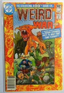 Weird War Tales #100, 3.0 (1981)