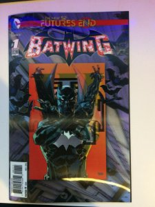 Batwing #1 The New 52 Futures End Lenticular Cover and Back Palmiotti 2014