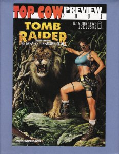 Top Cow 2001 Preview #1 NM Tomb Raider Greatest Treasure of All