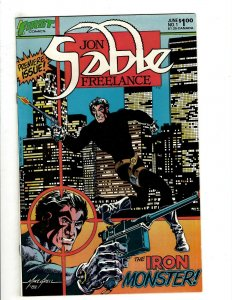 12 Jon Sable Freelance First Comics # 1 2 3 4 5 6 7 8 9 10 11 12 Spy Thrill HG4
