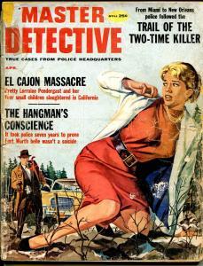 Master Detective 4/1959-MacFadden-Studebaker-weird menace-A-Bomb-P