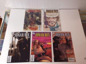 Jonah Hex 1-5 Near Mint Lot Run Set 2006