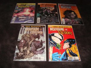TRUE BELIEVERS WOLVERINE RELATED COMPLETE SET OF 10
