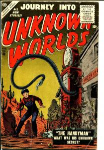 Journey Into Unknown Worlds #48 1956-terror-horror-Gray Morrow-Reed Crandall-VG-