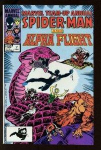 MARVEL TEAM-UP #7, NM-, Annual, Spider-Man, Alpha Flight, 1964 1984