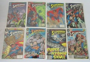 Superman Man Steel lot from:#0-49 extras 48 different books 6.0 FN (1991 1995)
