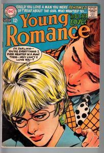 YOUNG ROMANCE #152 1968-DC ROMANCE-VG G