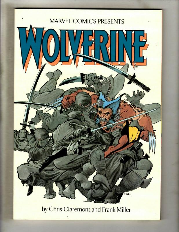Wolverine Marvel Comics Graphic Novel # 1-4 Compiled Frank Miller Mini Serie DS4