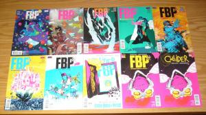 FBP: Federal Bureau of Physics #1-24 VF/NM complete series + collider 1 + poster