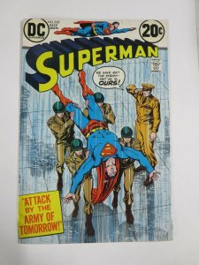SUPERMAN 265 VG July 1973