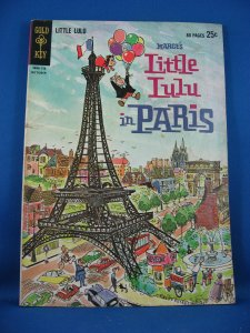 Marges LITTLE LULU IN PARIS 1 VG 1962