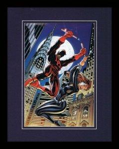 Daredevil #2 Marvel 11x14 Framed Poster Display J Scott Campbell