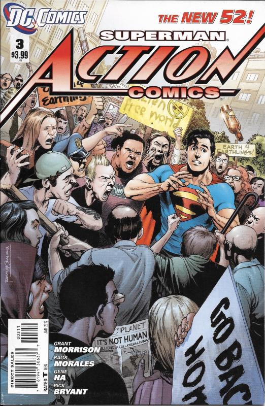 Superman Action Comics The New 52 #3