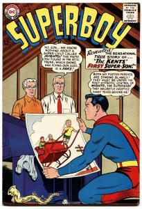 SUPERBOY #108 1963-DC COMICS-ORIGIN ISSUE POST HYPNOTIC MIND CONTROL