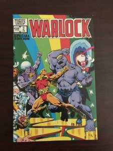 WARLOCK #2 SPECIAL EDITION, VF/NM, Jim Starlin, Marvel 1982 more in store