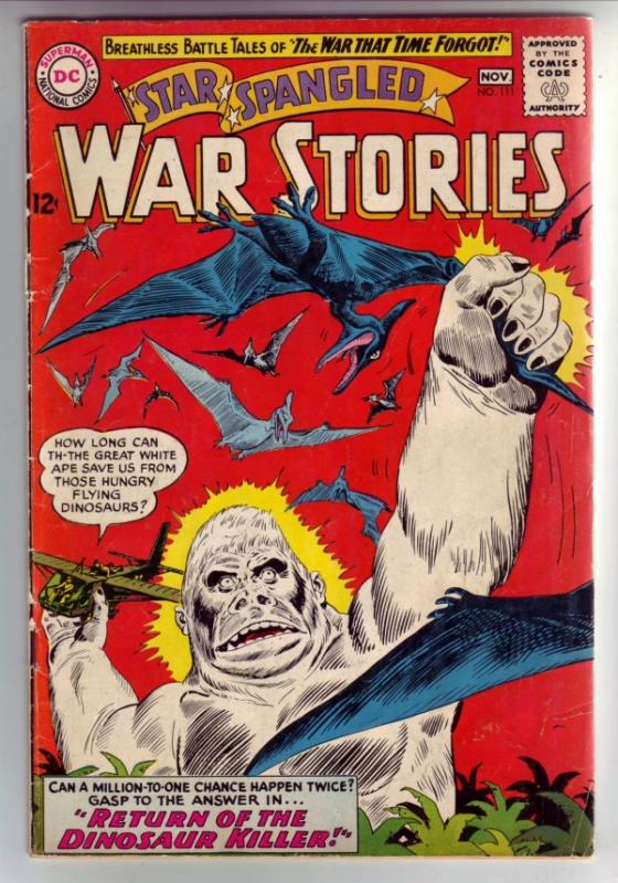 Star Spangled War Stories #111 (Nov-63) VG/FN Mid-Grade Dinosaur