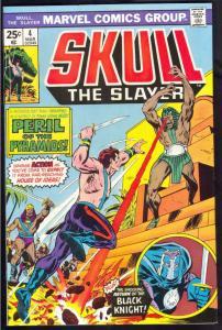 Skull the Slayer #4 (Mar-76) NM- High-Grade Skull the Slayer