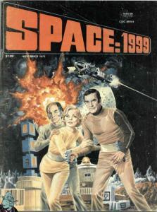 Space: 1999 (Magazine) #1 VG; Charlton | low grade comic - save on shipping - de
