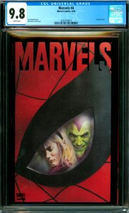 Marvels #4 CGC Graded 9.8 Acetate cover