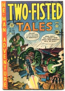 Two-Fisted Tales #25 1952- Kurtzman cover- EC golden age war VG/F