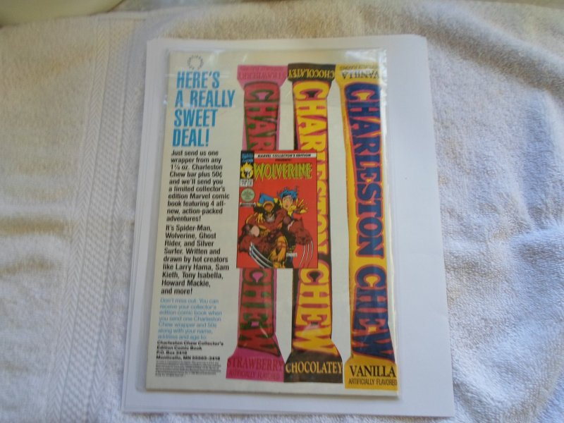 1992 marvel COMIC SILVER SABLE & THE WILD PACK # 4