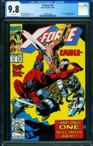 X-FORCE #15 CGC 9.8 DEADPOOL CABLE marvel 1994555007