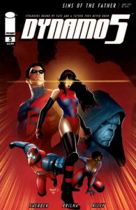 Dynamo 5: Sins Of The Father #5A FN; Image | save on shipping - details inside
