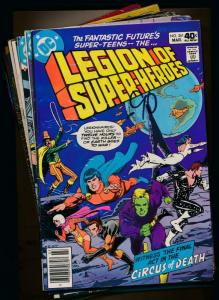 DC LOT OF 12-LEGION OF SUPER-HEROES4#261,264,267-269,272,278,283,301-30 (PF372)