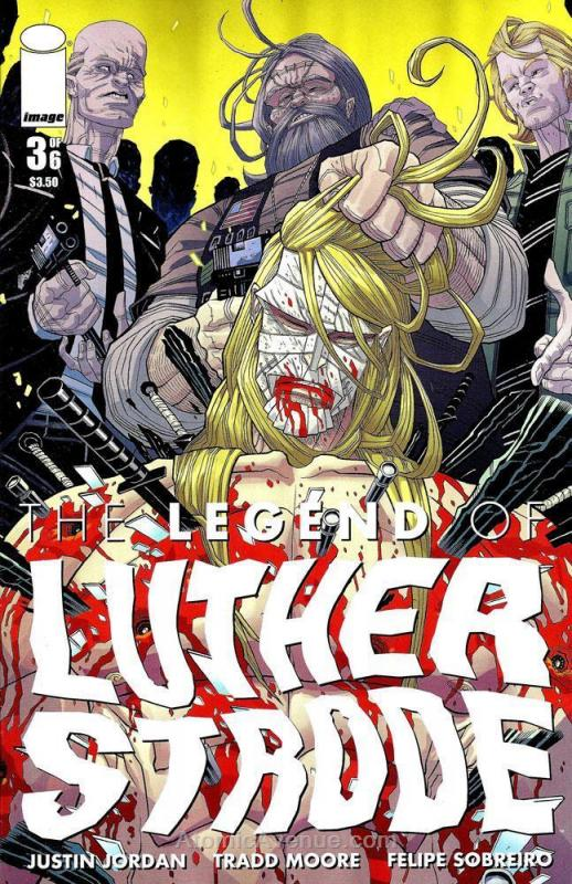 Legend of Luther Strode, The #3 VF/NM; Image | save on shipping - details inside