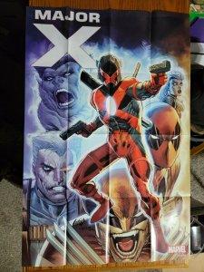 LARGE 36 x 24 Deadpool Major X Promo Poster