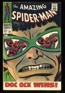 Amazing Spider-Man #55 VG+ 4.5 Doc Ock!