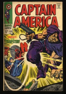 Captain America #108 GD/VG 3.0 Marvel Comics
