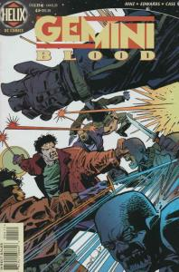 Gemini Blood #4 VF/NM; DC/Helix | save on shipping - details inside