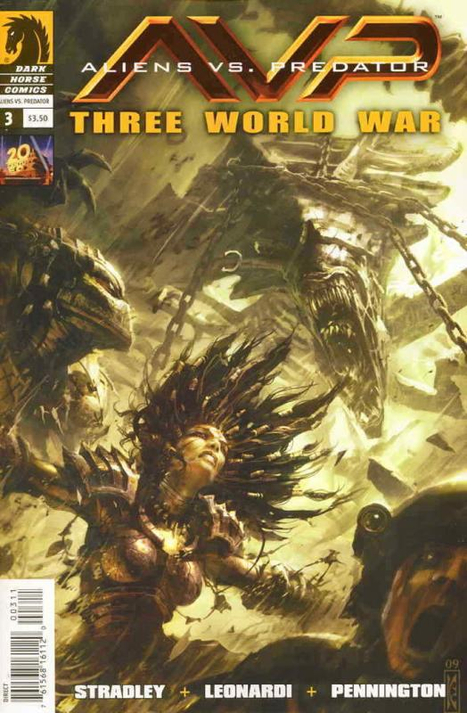Aliens vs. Predator: Three World War #3 VF/NM; Dark Horse | save on shipping - d