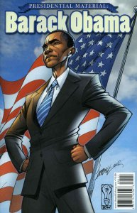 Presidential Material: Barack Obama #1 FN; IDW   save on shipping - details insi
