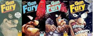 GUN FURY RETURNS (1990 AI) 1-4  Barry Blair  COMPLETE!